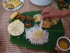 dsc03793 (MoNOloGuE0) Tags: cuisine kerala banana onam buttermilk pappadam achar payasam sadya avial onasadya