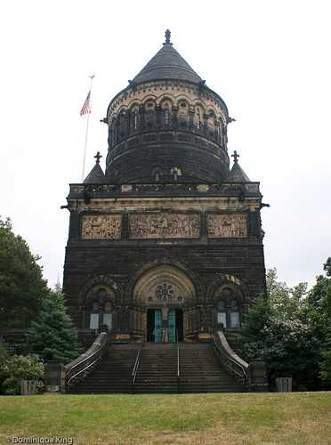 Lakeview Cemetery Cleveland Garfield Memorial-16