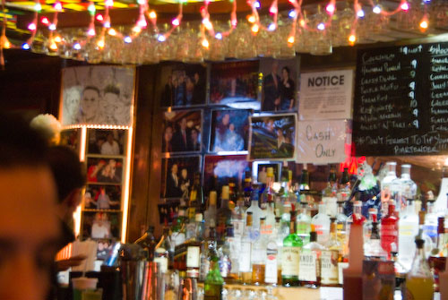 Bar in the Lower East Side, NYC
