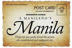 InFlight Manileño's Manila Post Card
