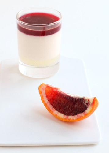 Panna cotta de lychees
