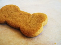 brown sugar cookies (cook's illustrated) in dog biscuit shapes - 30