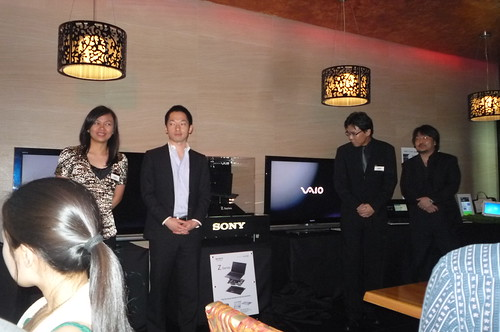 Sony Viao Prestige Spring Collection 2010 Launch