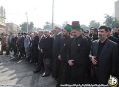 العتبتين المقدستين الحسينية والعباسية تنظم تظاهرة تنديدا بقرارات الهيئة التمييزية