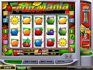 FruitMania slot game online review