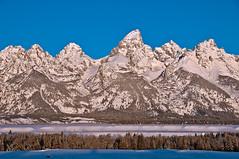 Classic Teton Morning (coterp) Tags: winter mountain snow nikon jackson wyoming teton d300 coterp