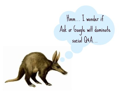 aardvark asking a question