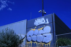 Graffiti CCTV (Sam Walton Photography) Tags: graffiti cctv drains woden canon400d