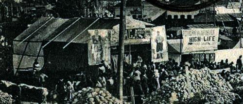 Oborul - 1908 (detaliu)