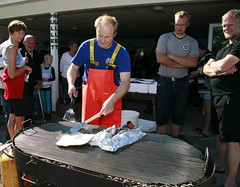 Fiskedag (Billedgalleri Krik Vig Camping) Tags: grill fisk