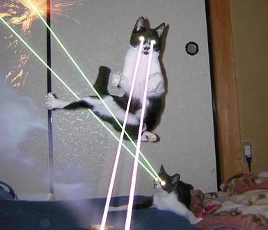 Lazerių karai iš ateities yra FTW!