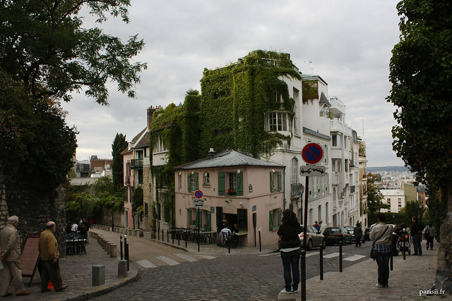 Plus haute colline de Paris