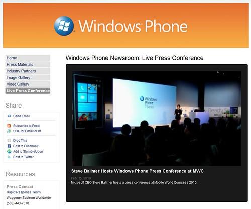 http://www.microsoft.com/presspass/presskits/windowsphone/LiveEvent.aspx