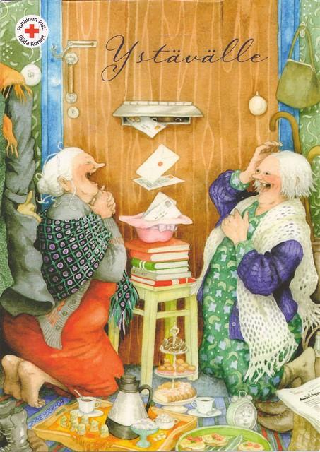 Inge Look Postcard