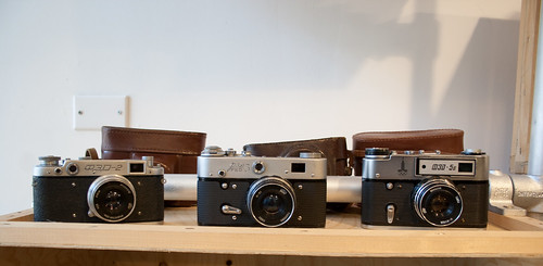 Russian Leica Imitations at Lomography Store