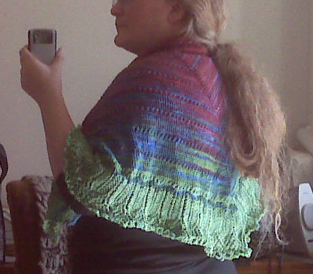 The Eliina is finished, except for blocking!