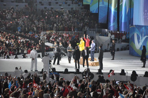 Feb 15 Olympic Victory Ceremony