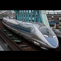 SHINKANSEN  JR500 (whc7294) Tags: japan train 新幹線 w1 6a jr西日本 のぞみ 500系 70200mmf28 jr500 六番町 westjapan nikond300 goldstaraward nikonafsnikkor70200mmf28gedvrii のぞみ6号