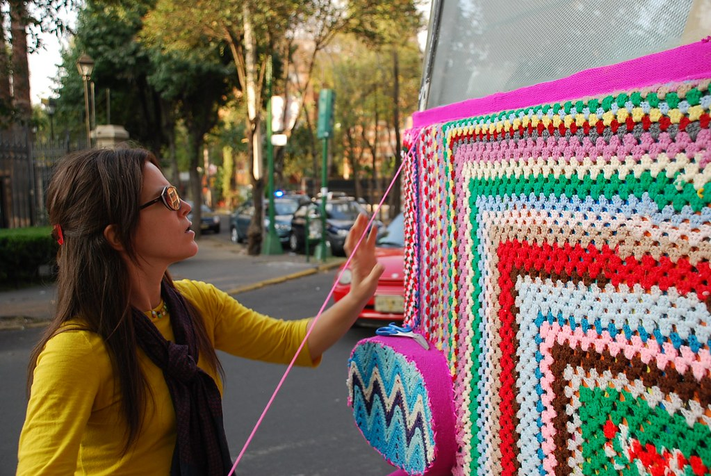 Magda Sayeg: Mexico City Bus Project