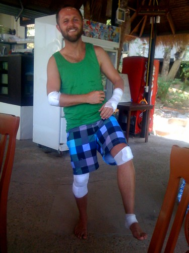 Injured in Thailand