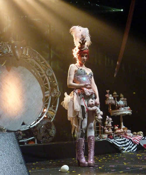 Emilie (Emilie Autumn show Luxembourg)