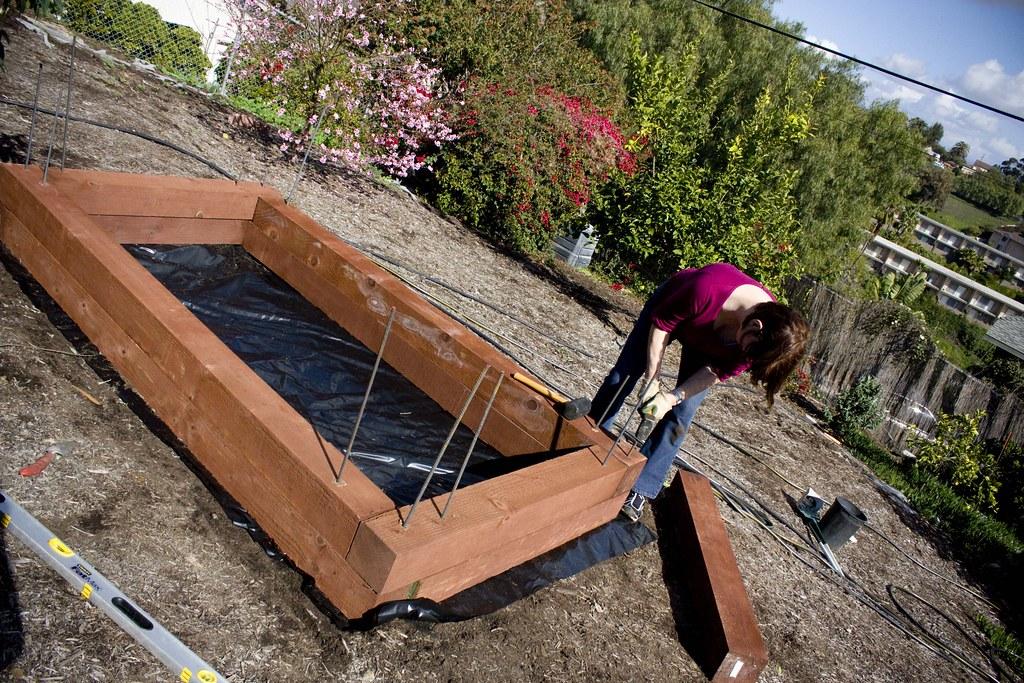 securing the garden
