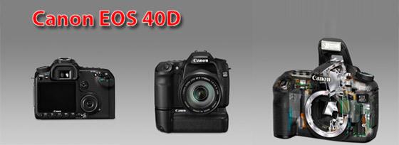 Verkaufe EOS 40D mit Batteriegriff und Zubehör
