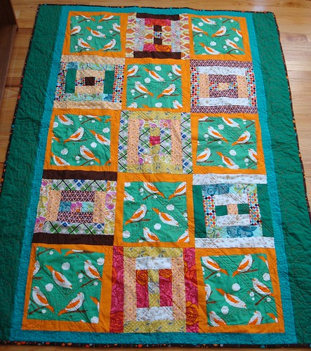 Hallie quilt washed