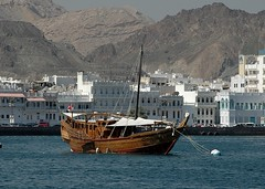 Dhow (Gerry Hill) Tags: cruise persian gulf harbour oman muscat seas brilliance dhow mutrah