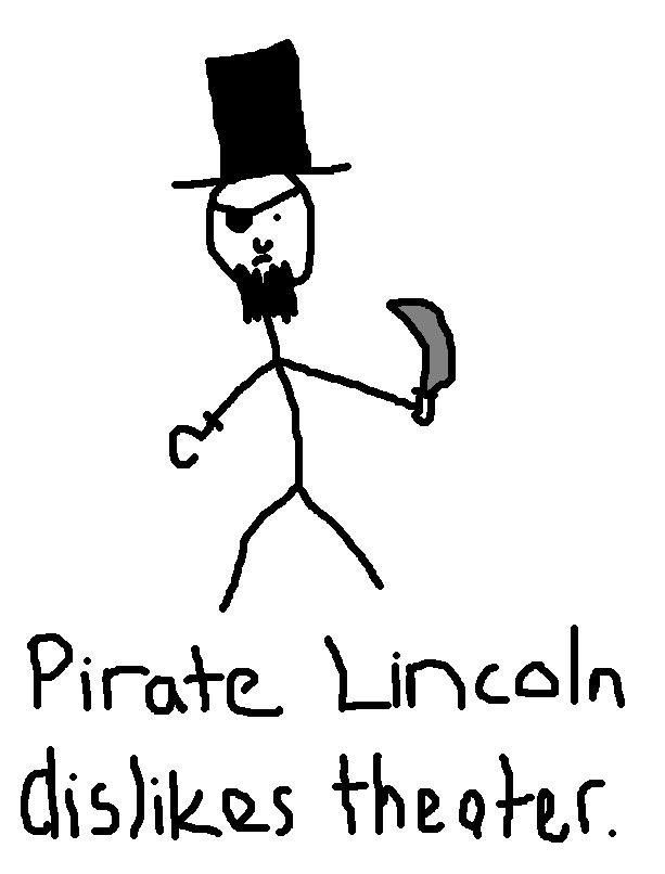 Pirate Lincoln