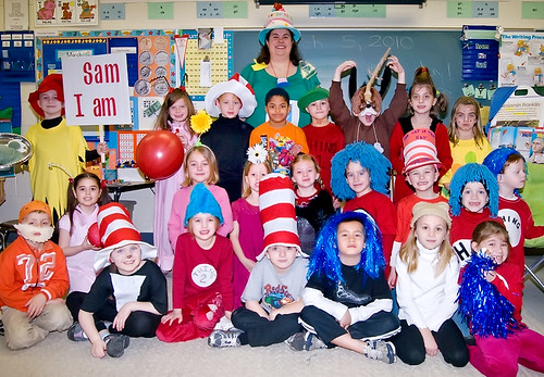 Dr. Suess characters!