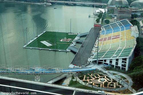 Stadium? F1 Race Track?