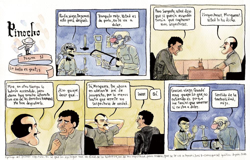 PÁGINA 12: LO BELLO ES GRATIS