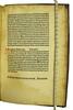 Colophon and manuscript initial, capital strokes, paragraph marks and underlining in Polo, Marco: De consuetudinibus et conditionibus orientalium regionum