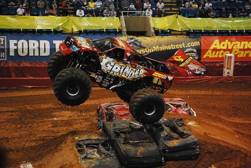 Monster Truck Grinder Jump