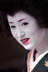 Baika-sai '10 #24 (Onihide) Tags: kyoto maiko geiko teaceremony kitanotenmangu baikasai kamishichiken ichimame 市まめ onihide