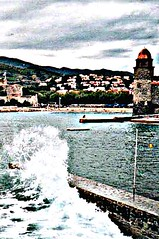 Collioure (b16dyr) Tags: france collioure hdr piknic languedocroussilon