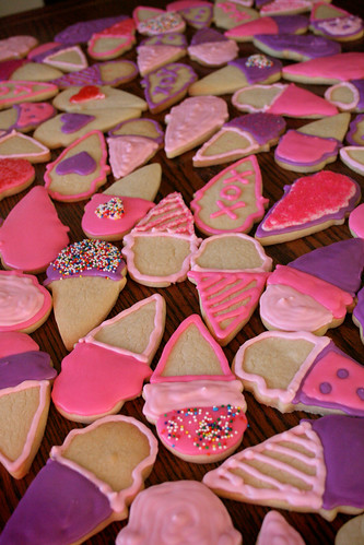 Valentine's Day Sugar Cookies.