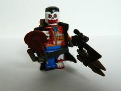 on the humans side zombie killer ([Headhunter]) Tags: brick lego zombie apocalypse killer apoc brickarms apocalego