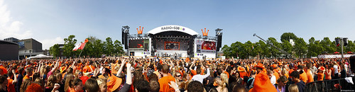 Queensday 2009 panorama