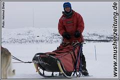 Finnmarkslopet: Bernhard Schuchert in Kirkenes
