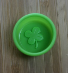 st. pat's day silicone cup