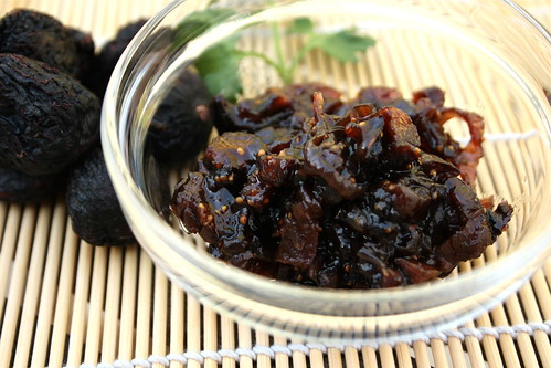 Fig Onion Conserve - In this fig onion conserve, red onions are melted down and combined with figs and balsamic, making a conserve that goes well with any cheese.