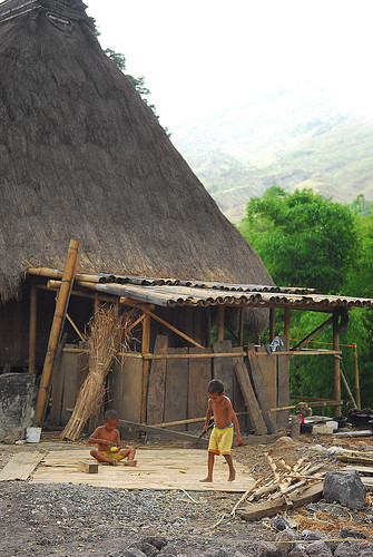 Flores - Bena traditional village (3)