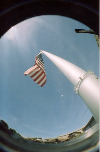 Fisheye flag