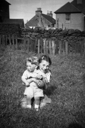 Irene & Billy Ross ? Waterside Kirkintilloch 1958
