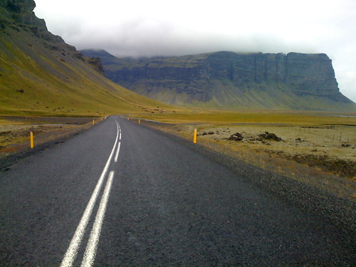 iceland highway to bluffs