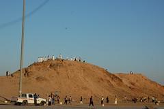 Site of the Battle of Uhud (Omar A.) Tags: travel winter march islam kingdom battle mount saudi arabia medina caravan prophet muhammad 2010 ksa madinah uhud saced munawwara
