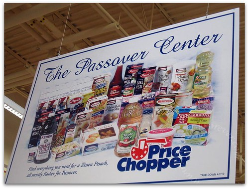 Passover shopping at Price Chopper