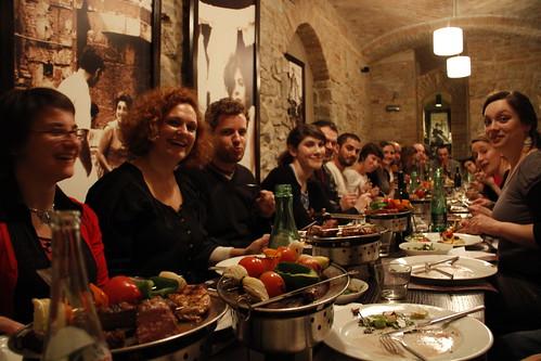 Lunch in Argentinean steakhouse El Gaucho (Bratislava) 2